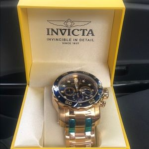 INVICTA BLUEFACE PRO DIVER SERIES WATCH! HOT DEAL!